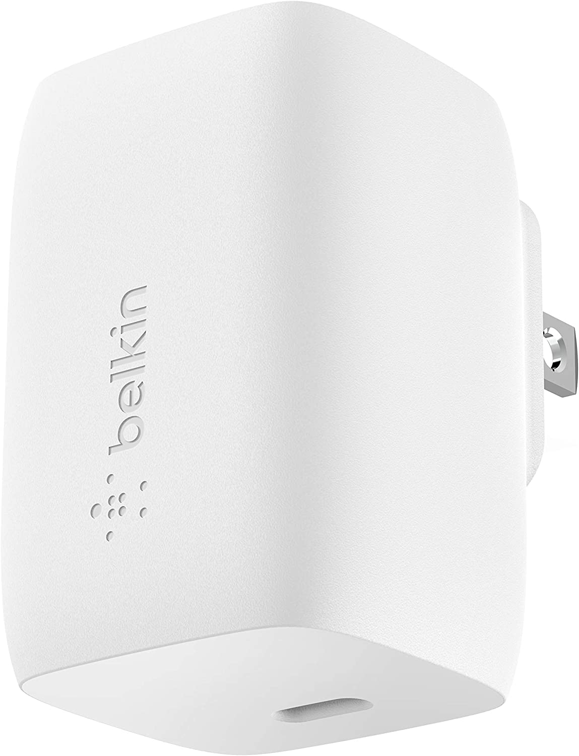 Belkin 60W GaN Charger, USB-C PD Charger (Charges MacBook Pro) USB-C Charger, USB-C MacBook Charger, MacBook Pro Charger, USB-C Fast Charger