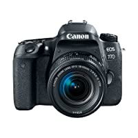 Canon EOS 77D Body, con 18-55mm, Negro