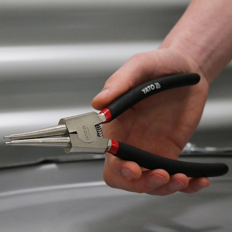 Yato YT-2144 - Pinzas Seger rectas 200 mm CrV Yato: Amazon.es: Bricolaje y herramientas