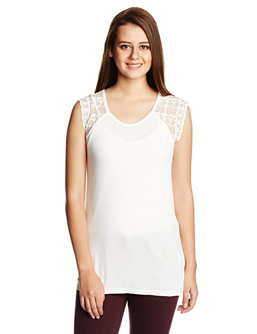 United Colors of Benetton Women's Top Tees at amazon