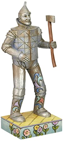 Enesco Jim Shore Wizard of Oz TIN Man Figurine, 8.25-Inch