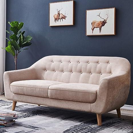 Amazon.com: Sofá de 67 pulgadas de ancho, JULYFOX sofá de ...
