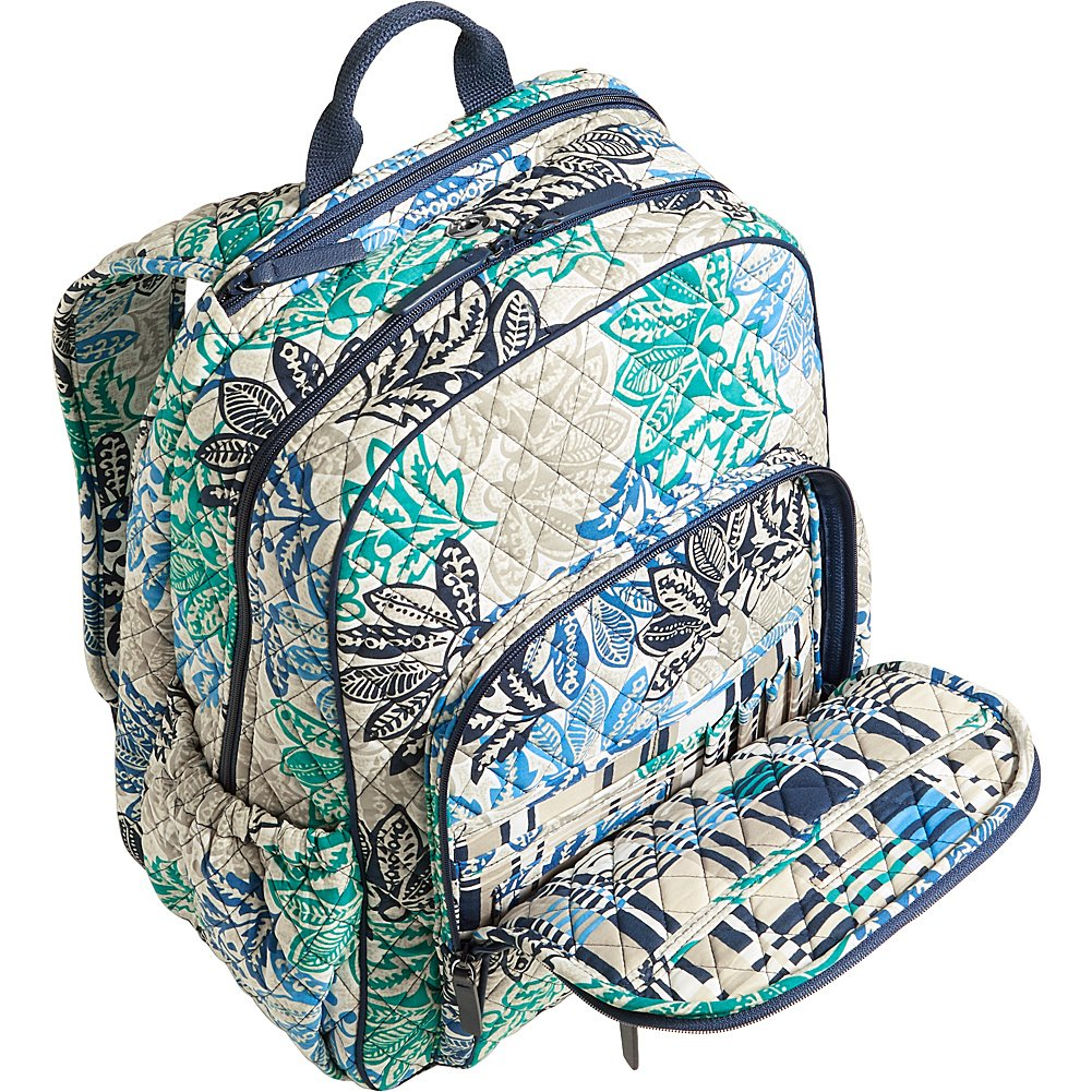 Amazon.com   Vera Bradley Women s Campus Tech Backpack Painted Medallions  Backpack   Casual Daypacks d86308eb00