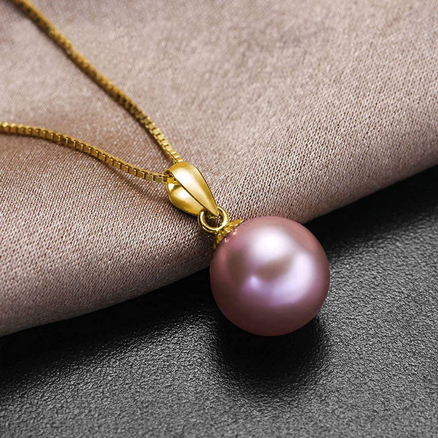 Aooaz Gold Plated Necklace Women Girl Hollow Round Pendant Necklace Rose Gold Wedding