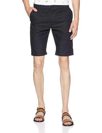 Indian Terrain Men's Slim Fit Shorts Men's Shorts at amazon