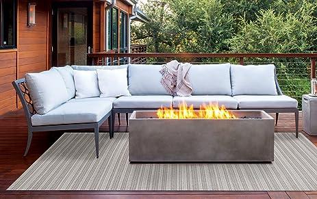 brown jordan prime label outdoor furniture rug 5x7 barnwell collection sisal woven modern patio rugs