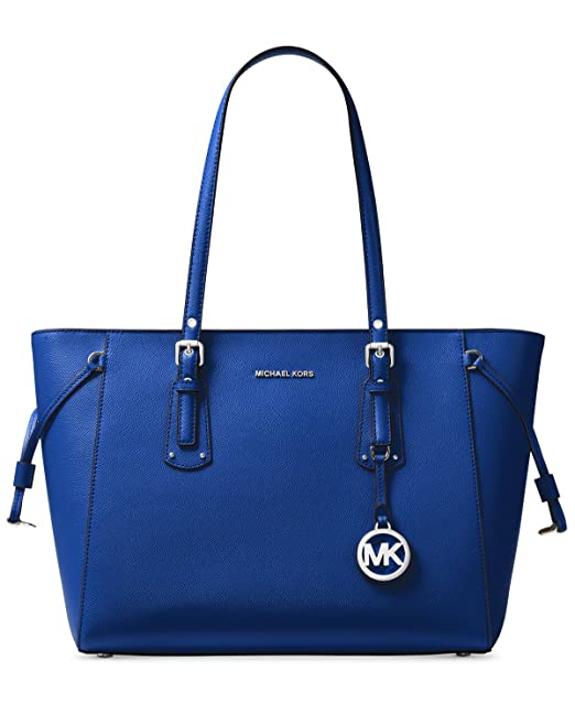 910f65c522 MICHAEL Michael Kors Voyager Medium Multifunction Top-Zip Tote (Electric  Blue)