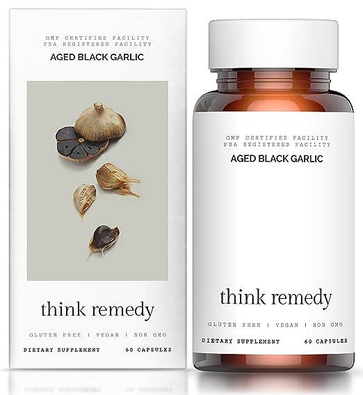 Think Remedy Aged Black Garlic Capsules