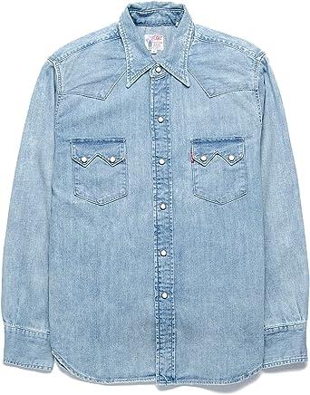 Levi´s Vintage Clothing Camisa Vaquera Sawtooth LVC 07205-0038 Vostok 1 (M): Amazon.es: Ropa y accesorios
