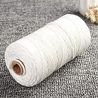 ZXYAN Cuerda de cordón de algodón Puro Blanco