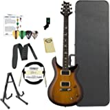 Paul Reed Smith Guitars ST22TS-Kit02 PRS SE Standard 22 Tobacco Sunburst Electric Guitar with ChromaCast Hard Case & Accessories