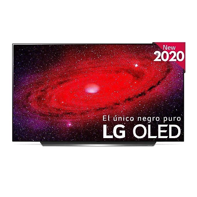 "LG OLED55CX-ALEXA - Smart TV 4K OLED 139 cm (55"") con Inteligencia Artificial, Procesador Inteligente ?9 Gen3, Deep Learning, 100% HDR, Dolby Vision/ATMOS, HDMI 2.1"
