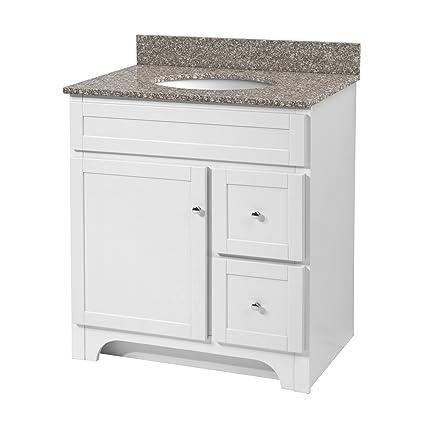 foremost wrwa3021d worthington 30 inch white bathroom vanity rh amazon com 30 inch white bathroom vanity with marble top 30 inch white bathroom vanity cabinet