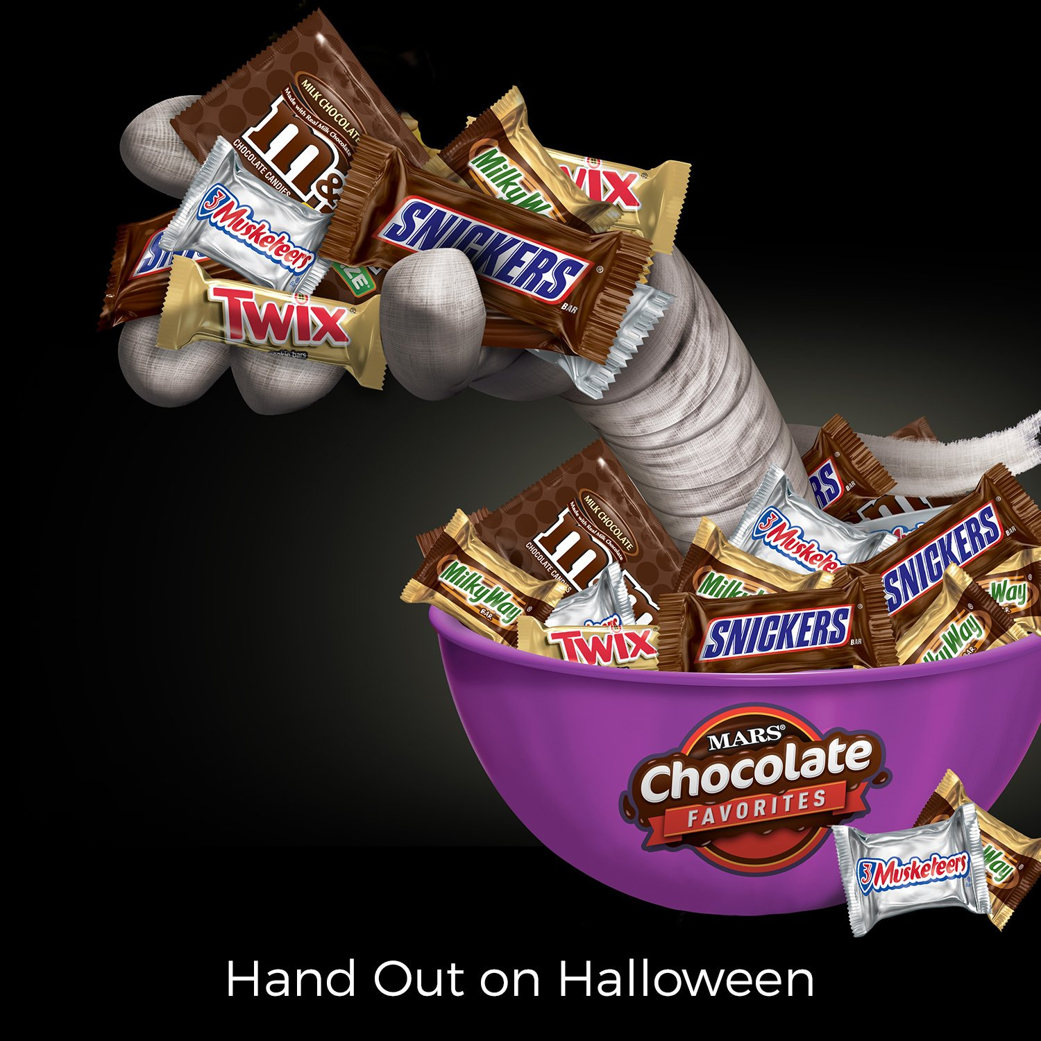 MARS Chocolate Favorites Candy Bars Variety Mix 96.2-Ounce 250-Piece Bag by Mars (Image #3)
