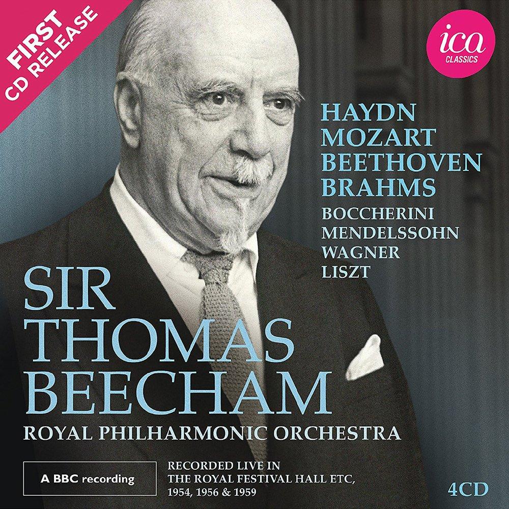 Sir Thomas Beecham Live by Ica Classics