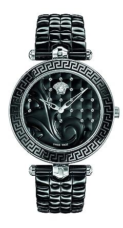 Versace Femme Analogique Quartz Suisse Montre avec Bracelet en Cramique  VAO020016 6495c42d935