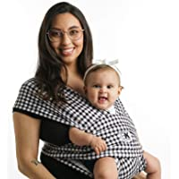 Baby K'tan Print Baby Wrap Carrier, Infant and Child Sling - Simple Wrap Holder for Babywearing - No Rings or Buckles…