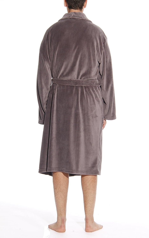 #followme Ultra Soft Plush Robe for Men with Shawl Collar