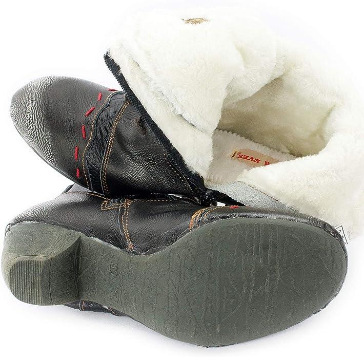 4,5 37,5 Gr. Halbschuhe Schuhe Leder Komfort MONIC