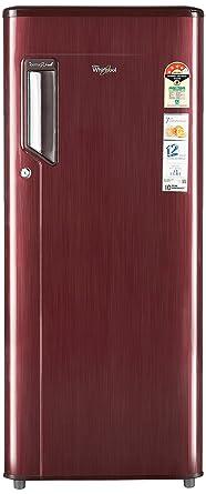 Whirlpool 215 L 4 Star Direct Cool Single Door Refrigerator(230 IMFRESH PRM 4S WINE TITANIUM(N)-E, Wine titanium)