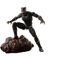 "Tamashii Nations S.H. Figuarts Black Panther & Tamashii Effect Rock ""Avengers: Infinity War"""