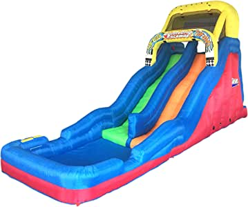 Banzai Double Drop Raceway 2 Lane Water Slide