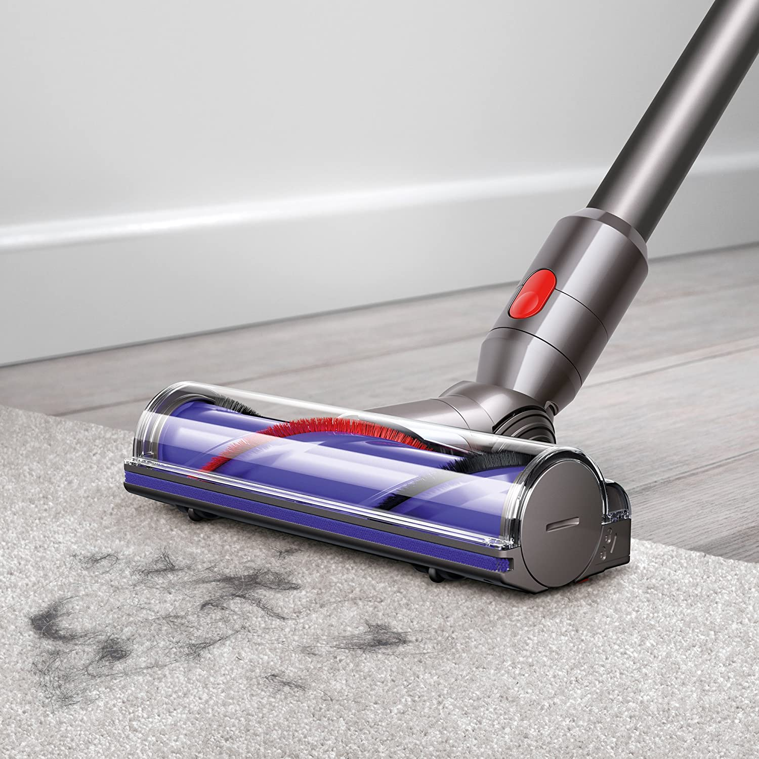 Amazon Com Dyson V7 Animal Cordless Stick Vacuum Cleaner Iron