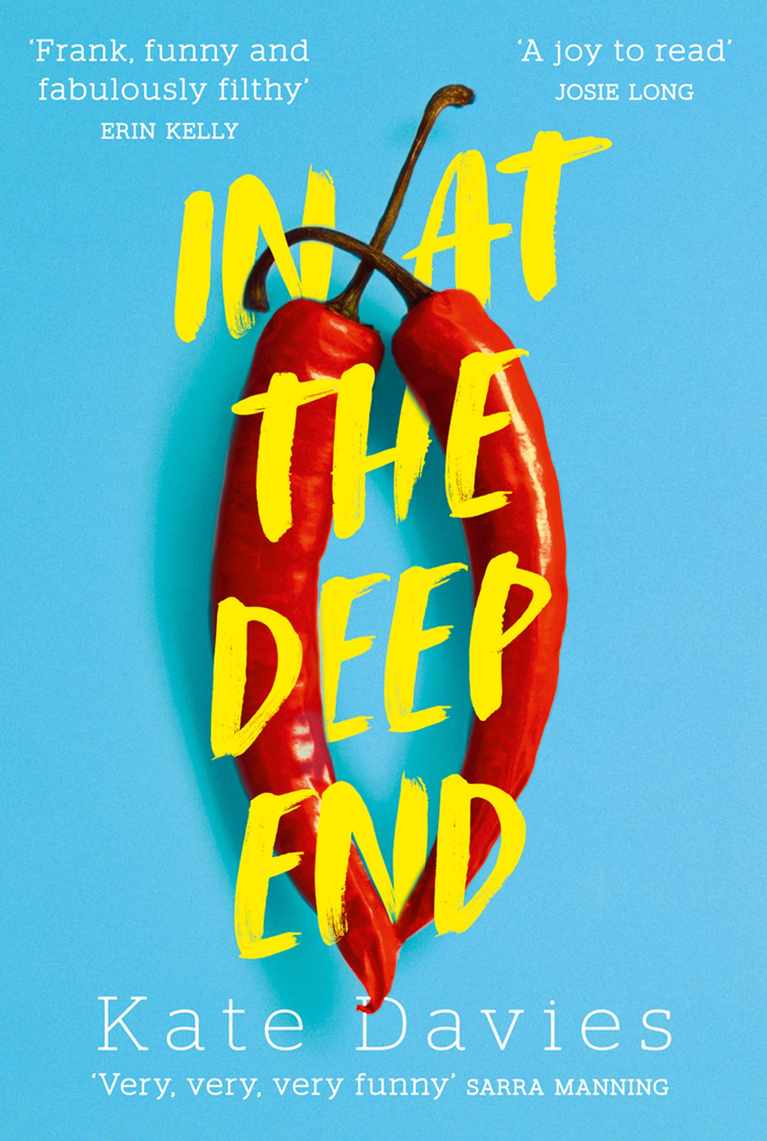 Image result for in at the deep end book