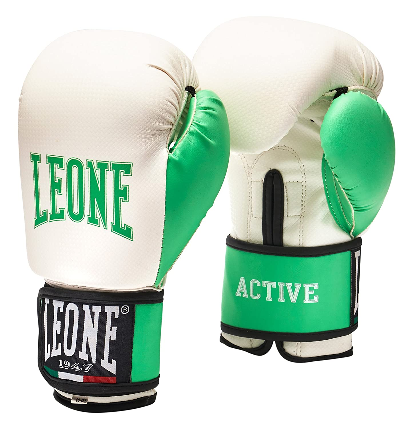 0 Leone 1947 Active Lady Boxhandschuhe, Weiß, M Weiß Live on the Edge Ltd LN-GN076-WHT