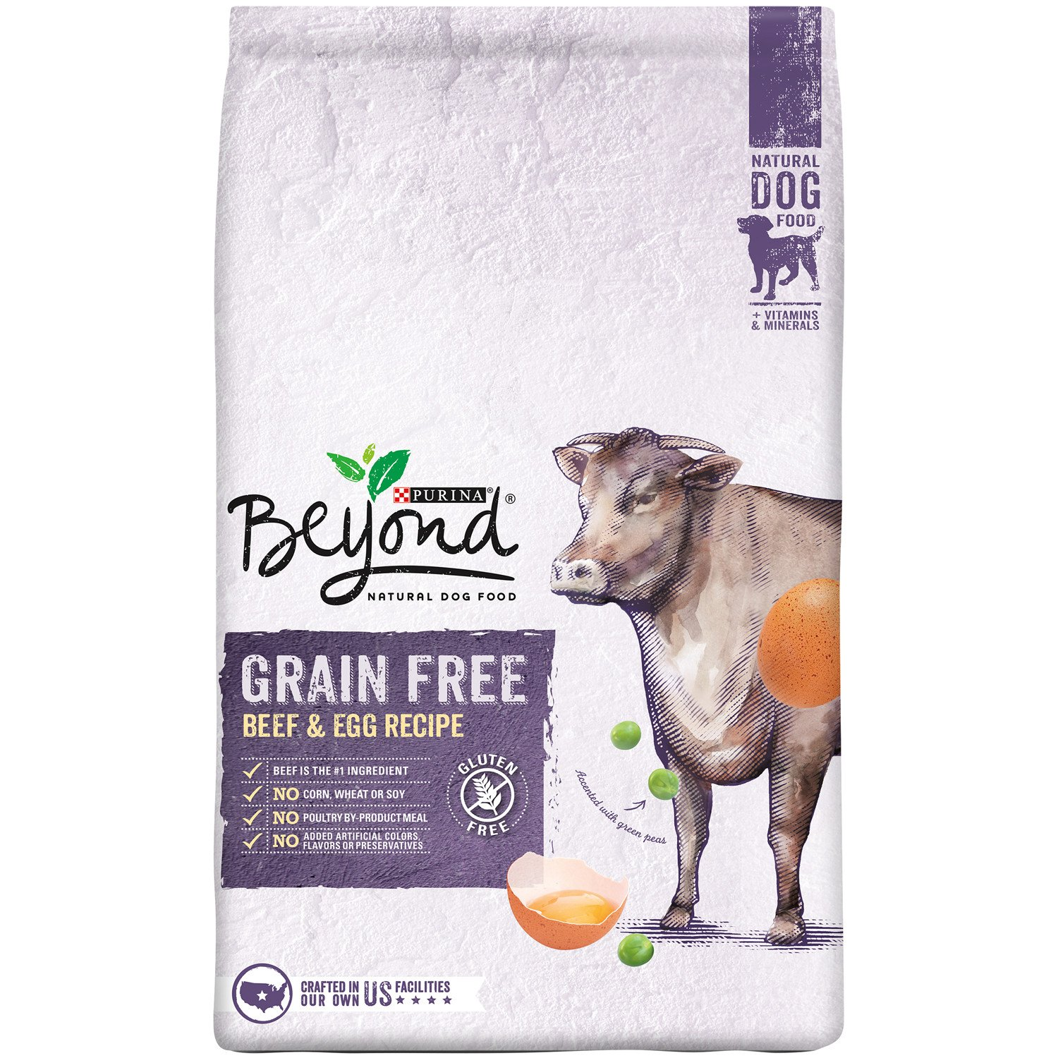 Purina Beyond Natural Grain Free Beef & Egg Recipe Dry Dog Food