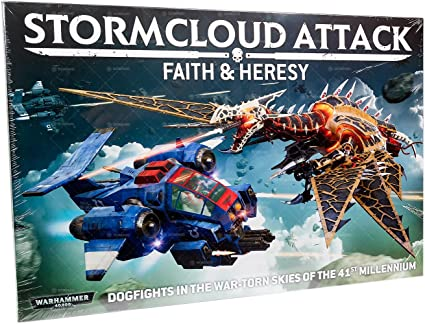 Warhammer 40k Games Workshop Storm Raven Gunship New Unopened