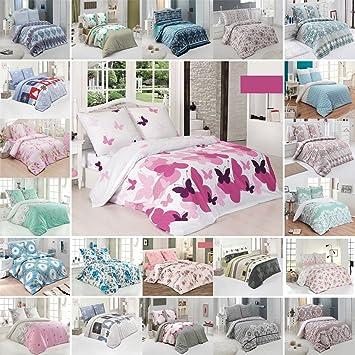 Amazonde Buymax Bettwäsche Bettbezug 200x220 Cm Kopfkissenbezug