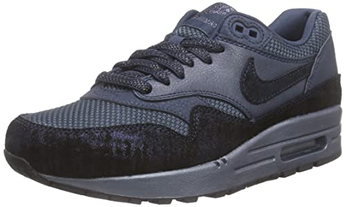 watch 5919b dd11a Nike WMNS Air Max 1 Premium Women Lifestyle Casual Sneakers New Squadron  Blue squadron blue