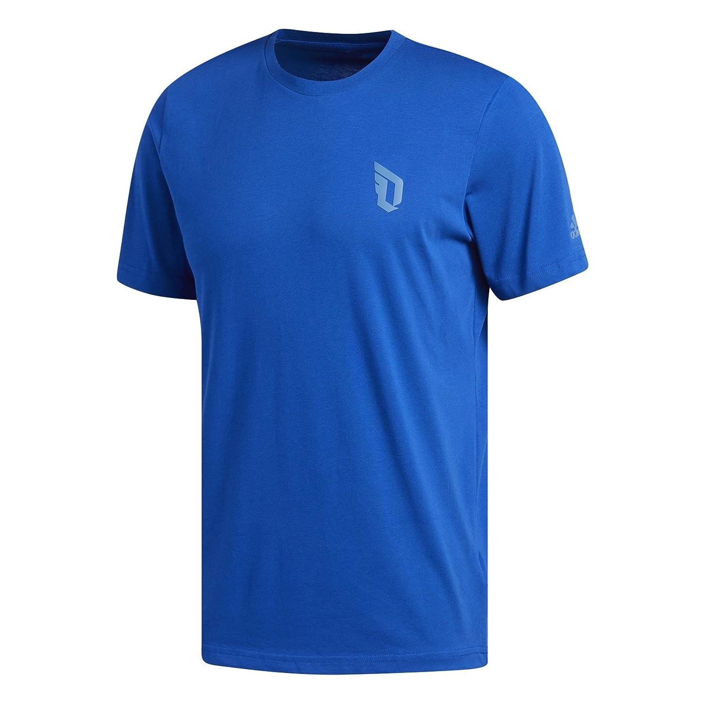 Adidas Dame Logo tee Camiseta de Baloncesto, Hombre