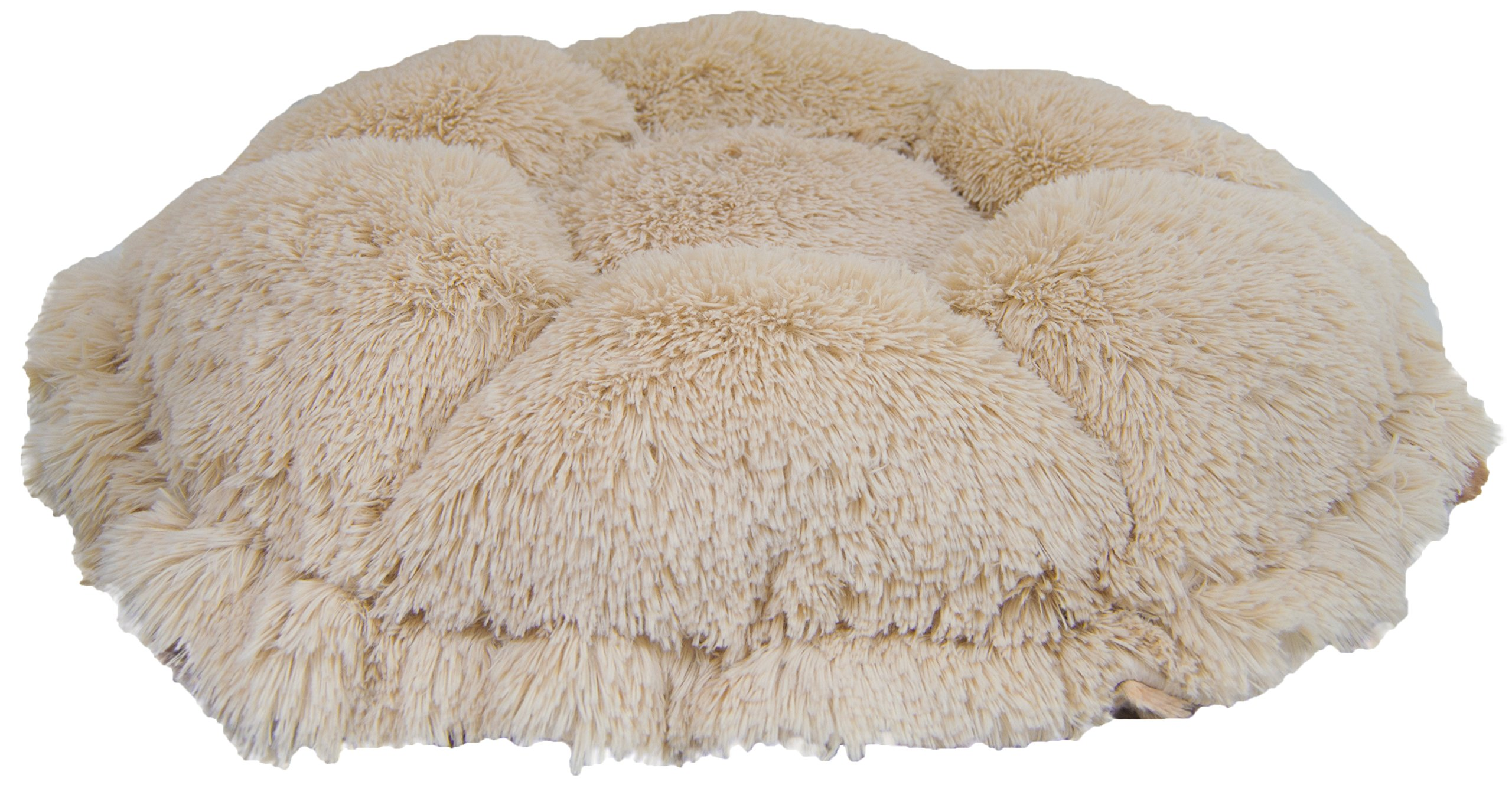 Bessie and Barnie Ultra Plush Simba/Blondie Luxury Shag Deluxe Dog/Pet Cuddle Pod Bed 2