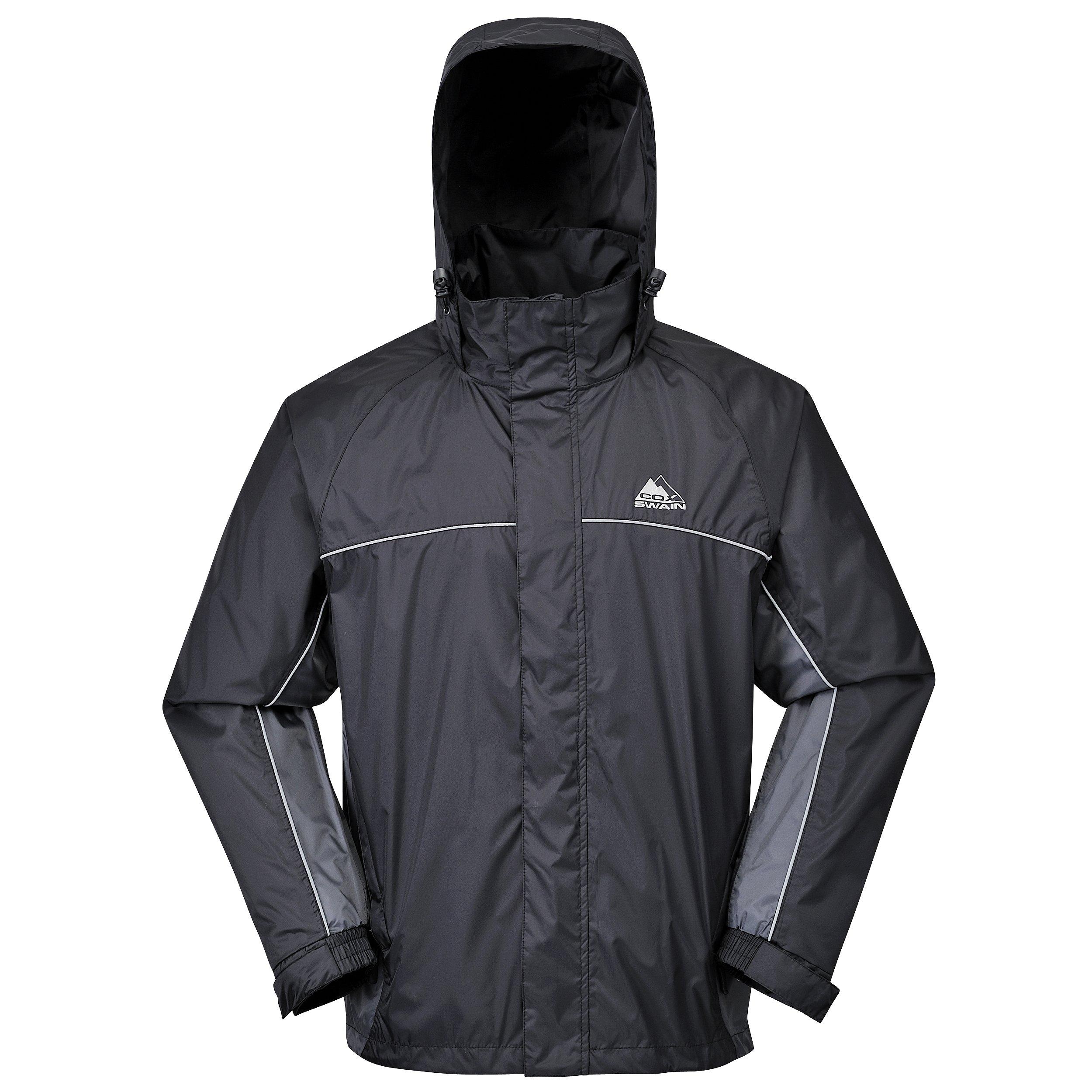 Kleidung & Accessoires Freundschaftlich Regen Jacke Hose Anzug Regenschutz Regenanzug Regenjacke Regenhose Kapuze Sport