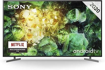 Oferta amazon: Sony KD-55XH8196 - HDR Android TV (procesador X1 4K HDR, Triluminos, X-Reality PRO, MotionFlow XR, X-Balanced Speaker, Dolby Vision, Dolby Atmos, mando con control por voz), Compatible con Alexa           [Clase de eficiencia energética A]