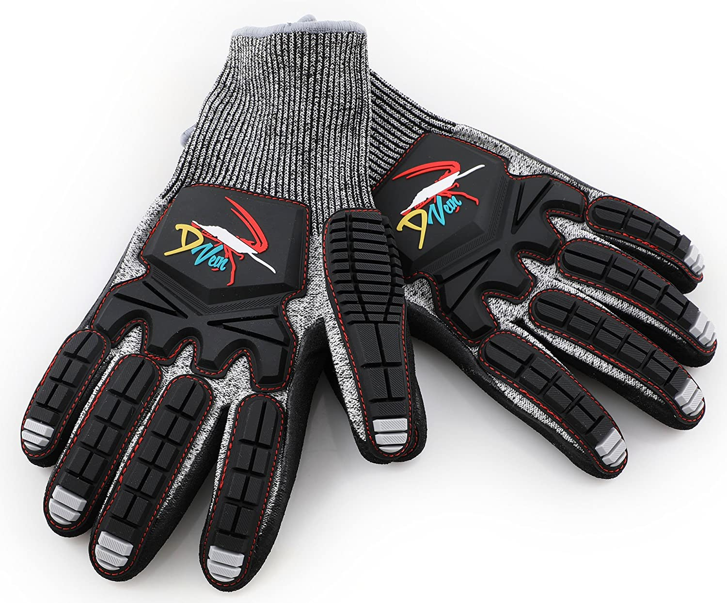 Lobster Gloves for Diving   Kevlar Spearfishing Dive Glove   Puncture Resistant : Sports & Outdoors