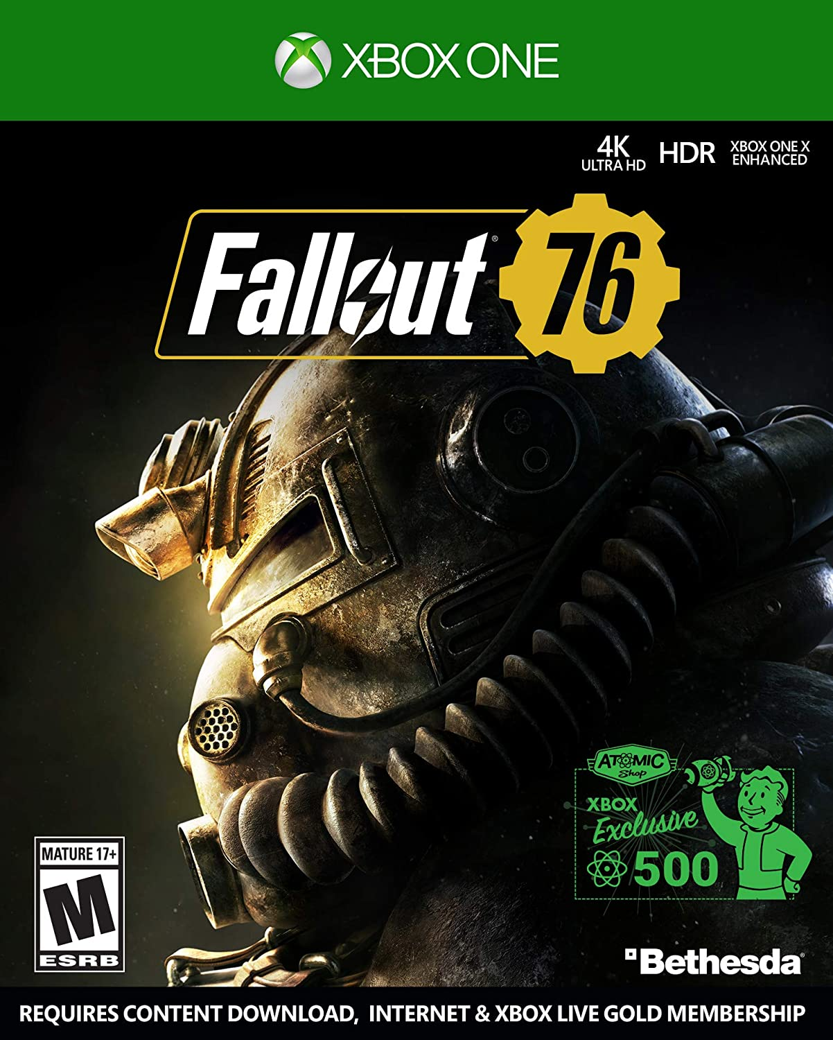 Amazon com: Fallout 76 Power Armor Edition - Xbox One: Video