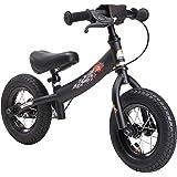 """BIKESTAR Bicicleta sin Pedales para niños ★ 10 Pulgadas ★ Color Negro ★ A Partir de 2-3 años ★ 10"""" Sport Edition 2018"""