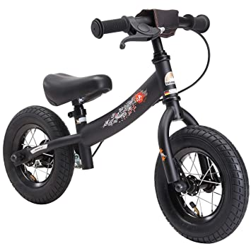 BIKESTAR - Bicicleta de Equilibrio para niños de 2 años con neumáticos de Aire y Frenos
