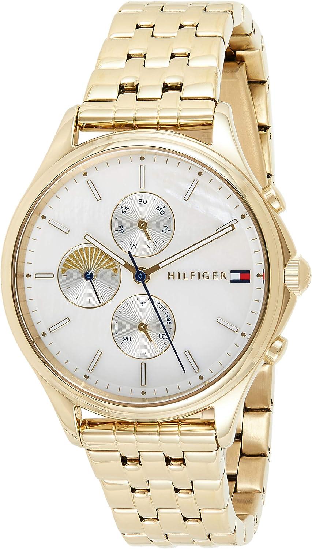 Tommy Hilfiger Reloj Analógico para Mujer de Cuarzo con Correa en Acero Inoxidable 1782121