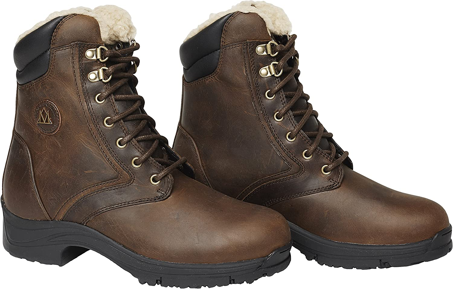 ERS Paddock Boots Laced-Ladies Synthetic Leather