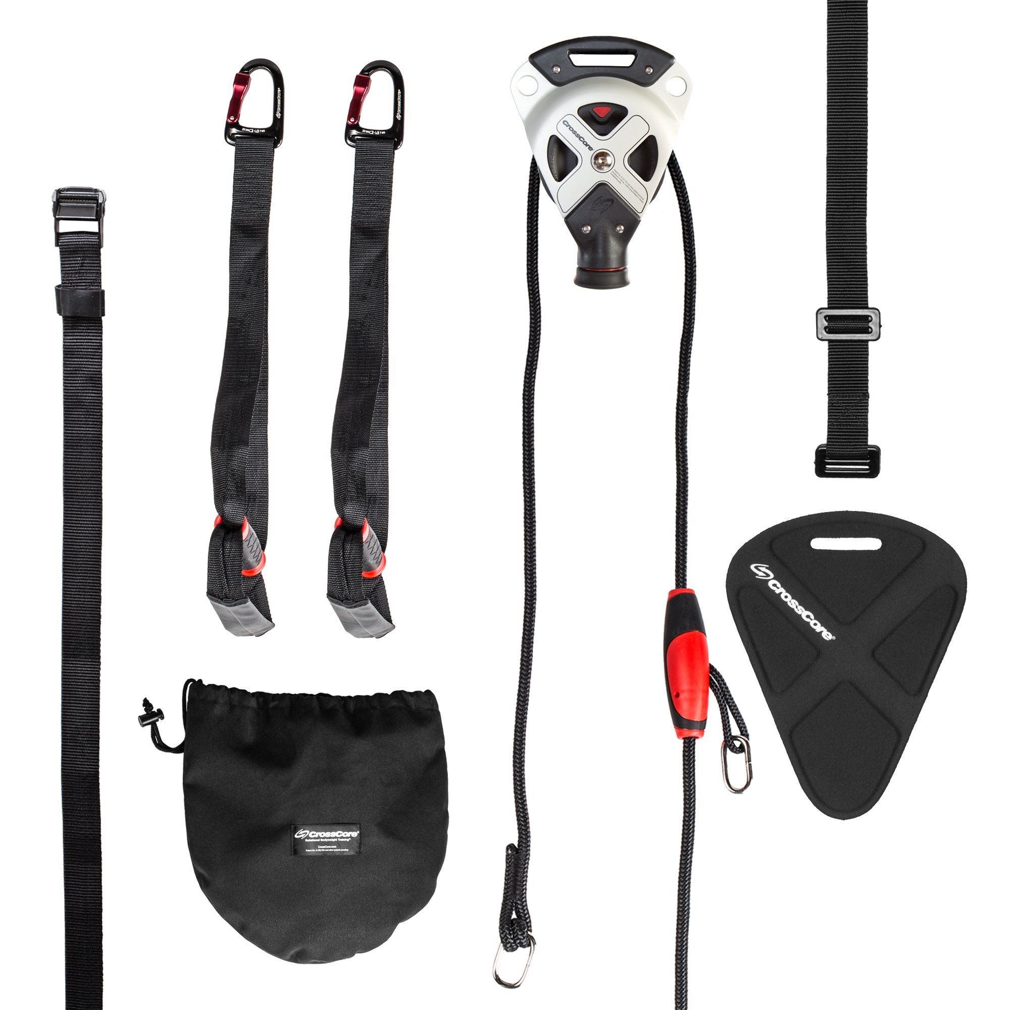 CrossCore System Suspension Trainer Fitness Equipment + Home Kit by CrossCore