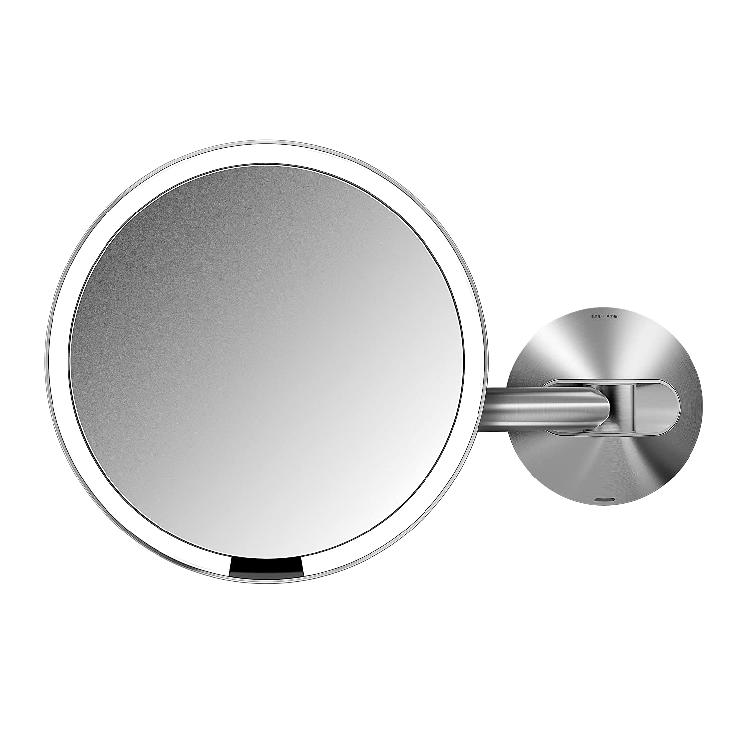 Wall mounted bathroom mirror - Amazon Com Simplehuman 8 Inch Wall Mount Sensor Mirror Lighted Makeup Mirror Rechargeable 5x Magnification Home Kitchen