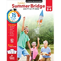 Summer Bridge Activities Workbook—Bridging Grades 5 to 6 in Just 15 Minutes a Day, Reading, Writing, Math, Science…