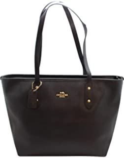 Buy coach signature city zip tote - brown black Online at Low Prices ... 631fe8f92e1f7