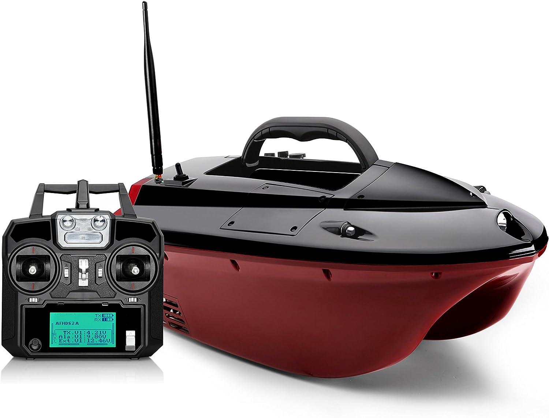BearCreeks iCatcher Mini Futterboote Bait Boat with Optional Sonar Fishfinder