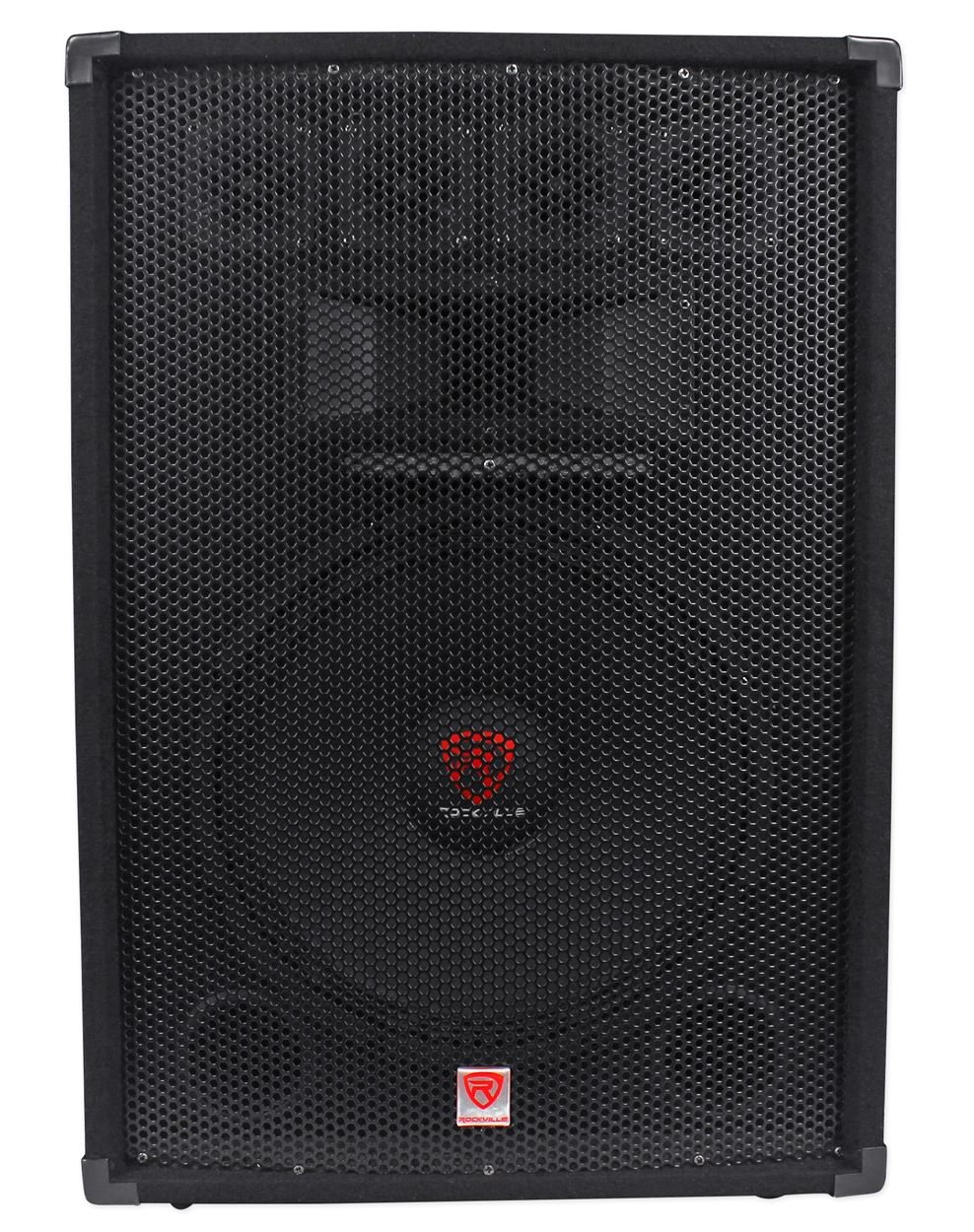 "Rockville RSG15.24 Dual 15"" 3000 Watt 3-Way 4-Ohm Passive DJ/Pro Audio Speaker Audiosavings"