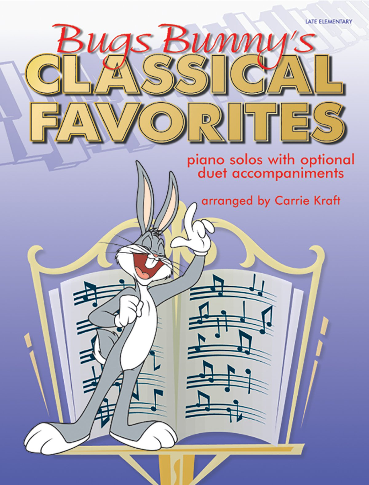 Bugs Bunny's Classical Favorites: Piano Solos with Optional Duet Accompaniments pdf